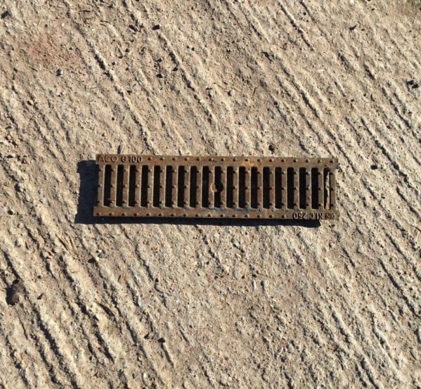 Cast Iron Channel Grating