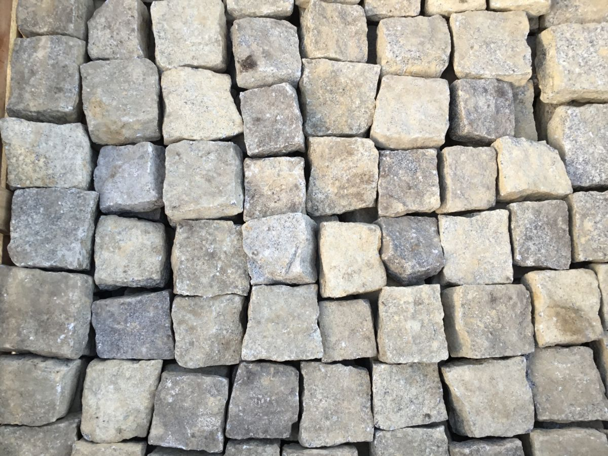 Light Grey Granite Cobbles from Purley