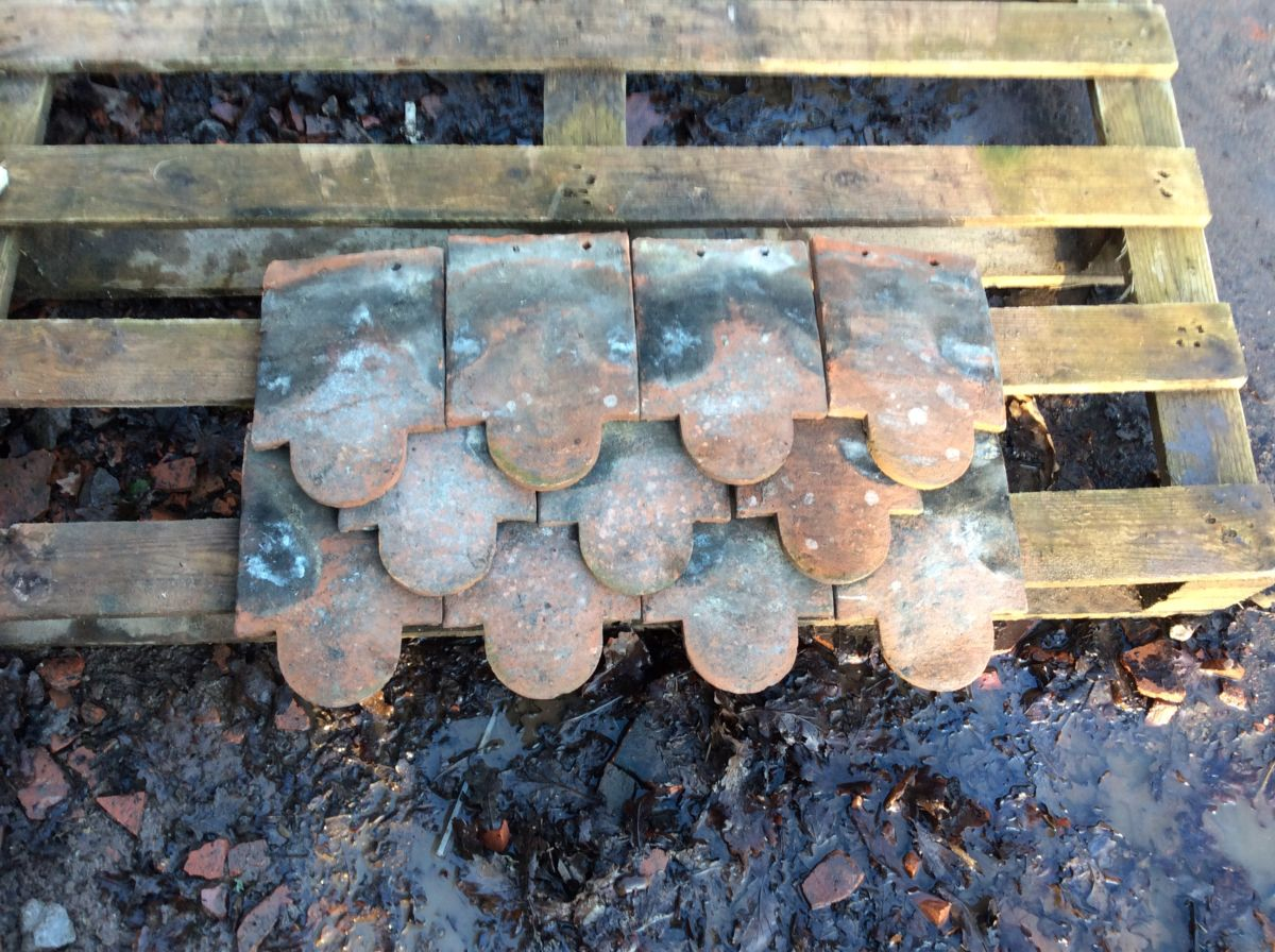 Weathered Reclaimed Clay Club Ornamental Tile