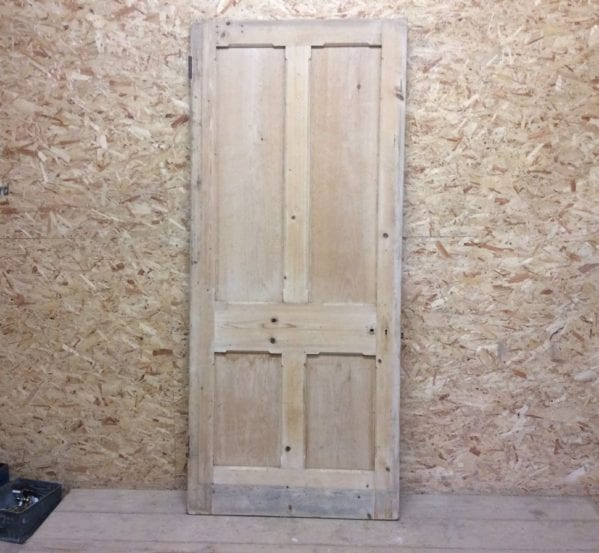 Large Premium Stripped 4 Panelled Door