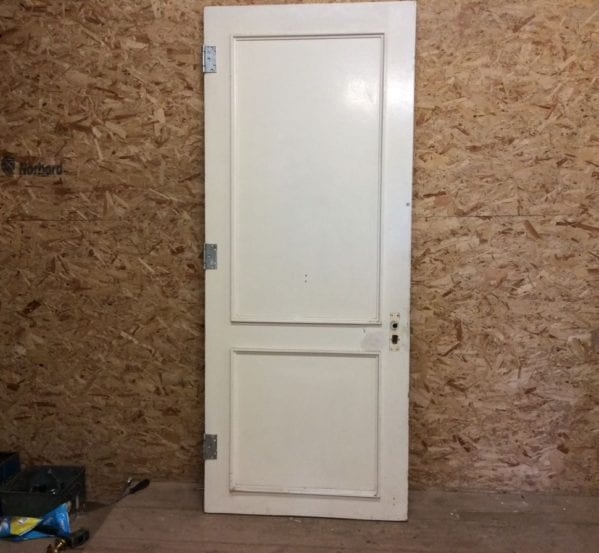 White 2 Panelled Door