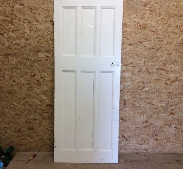 6 Panel Door 3/3 White