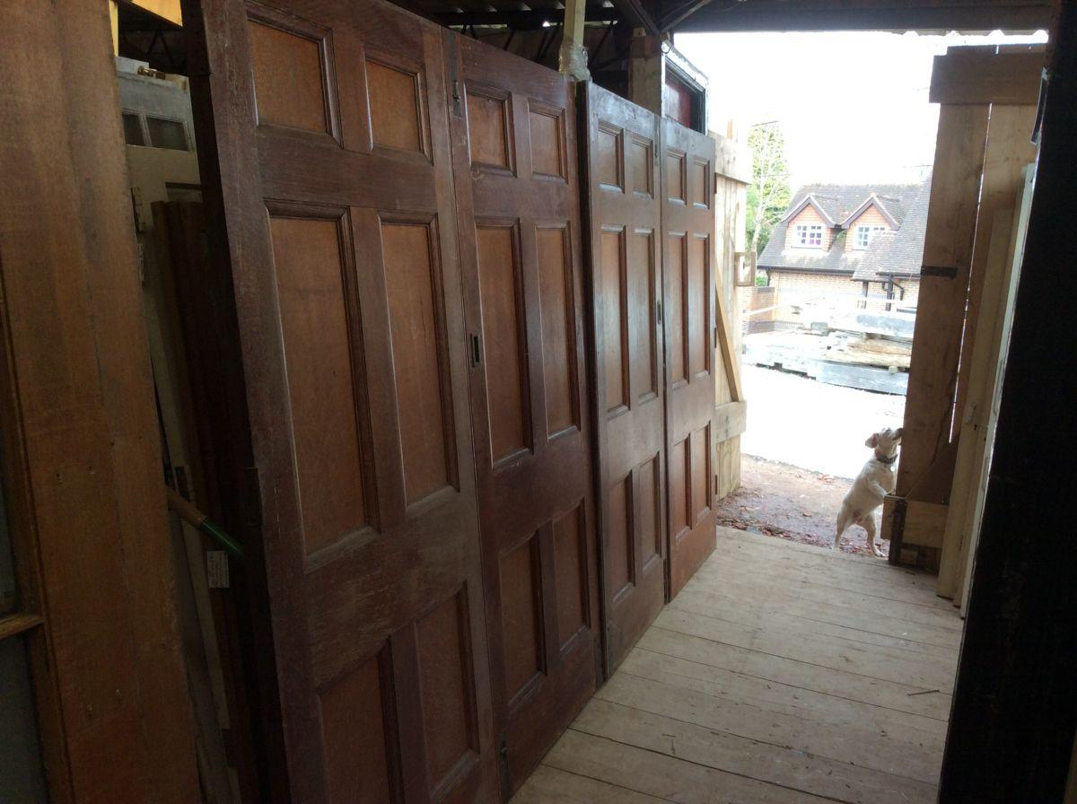 Oak 6 Panelled Bi-fold 4 Doors