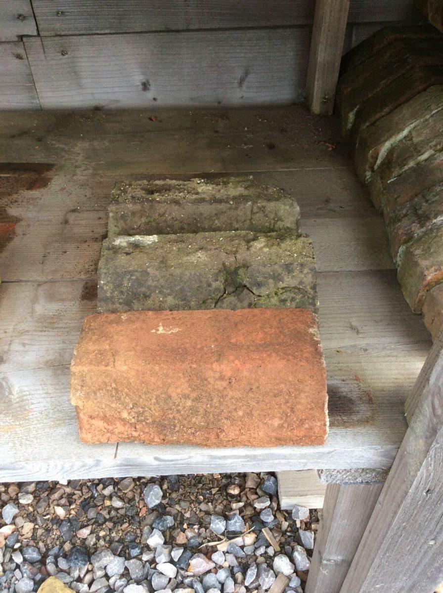Weathered Reclaimed Handmade Plinth Bricks