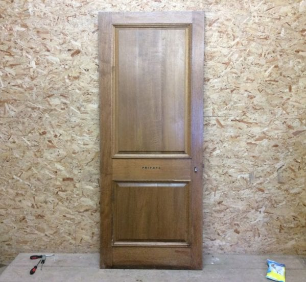 New Oak 2 Panelled Door (Wentworth)
