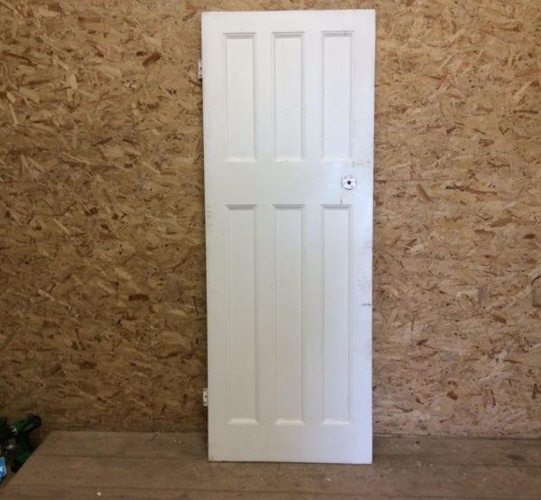 White 6 Panel Door 3/3