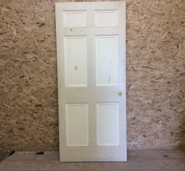 6 Panelled Door Cream 2-Tone
