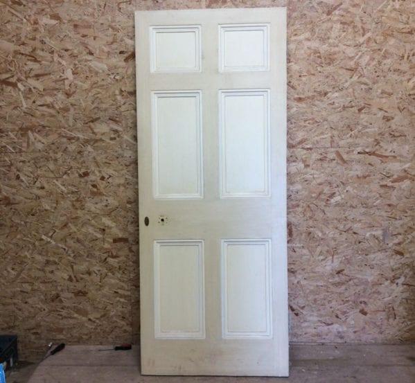 2-Tone Cream 6 Panelled Door