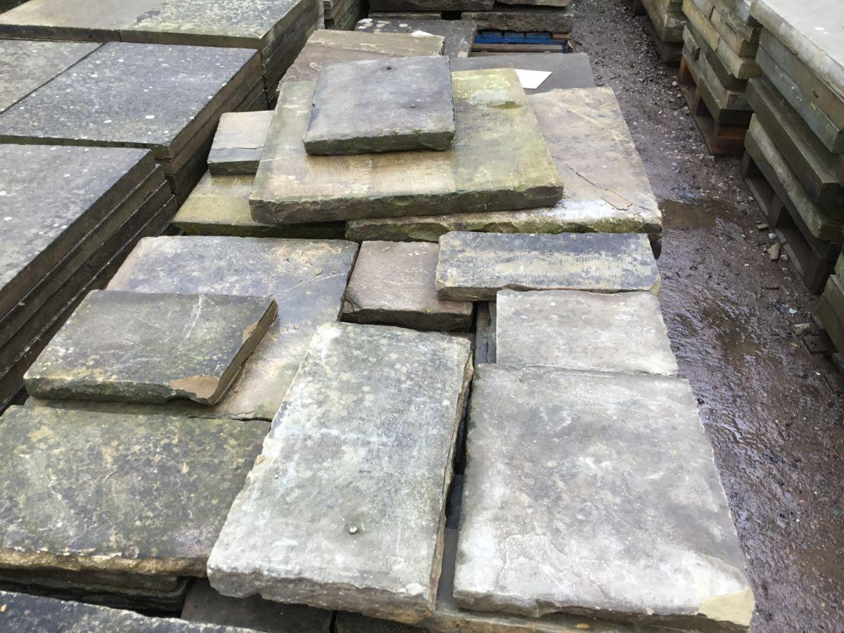 Reclaimed Various York Stone