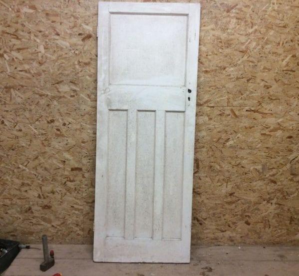 1930s 1 Over 3 White Door