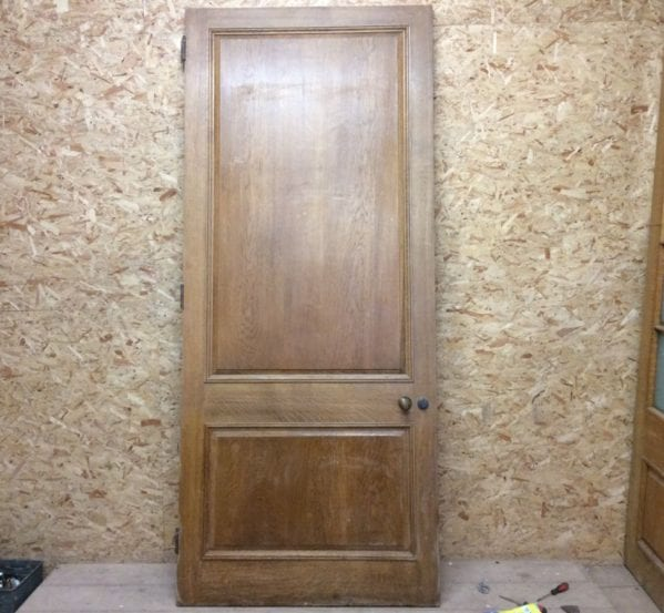 Enormous Oak 2 Panelled Door
