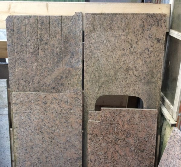 View Details; Reclaimed Speckled Granite Slabs
