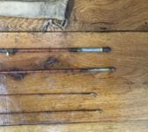 Reclaimed Antique Fishing Rods