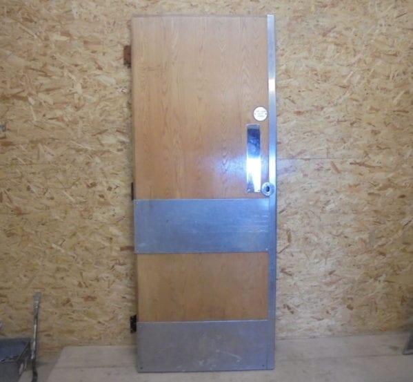 Pretty Pine Industrial Fire Door