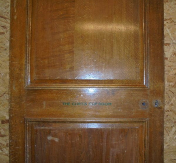 Wentworth Curtis Cup Oak 2 Panel Door
