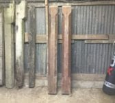 Reclaimed Decorative Pitch Pine Posts