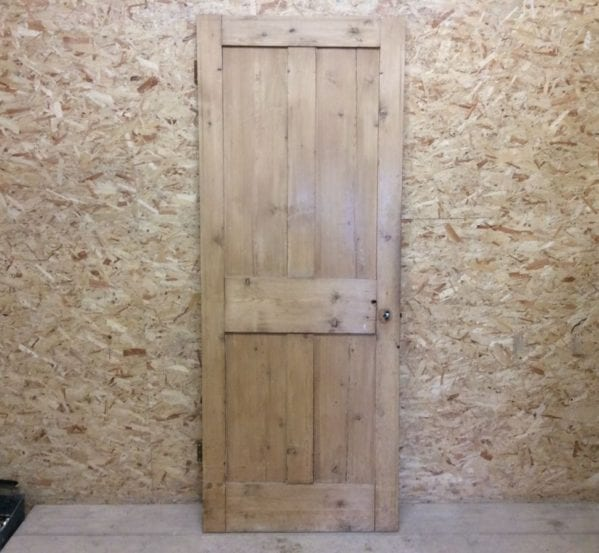 4 Panelled Stripped Door