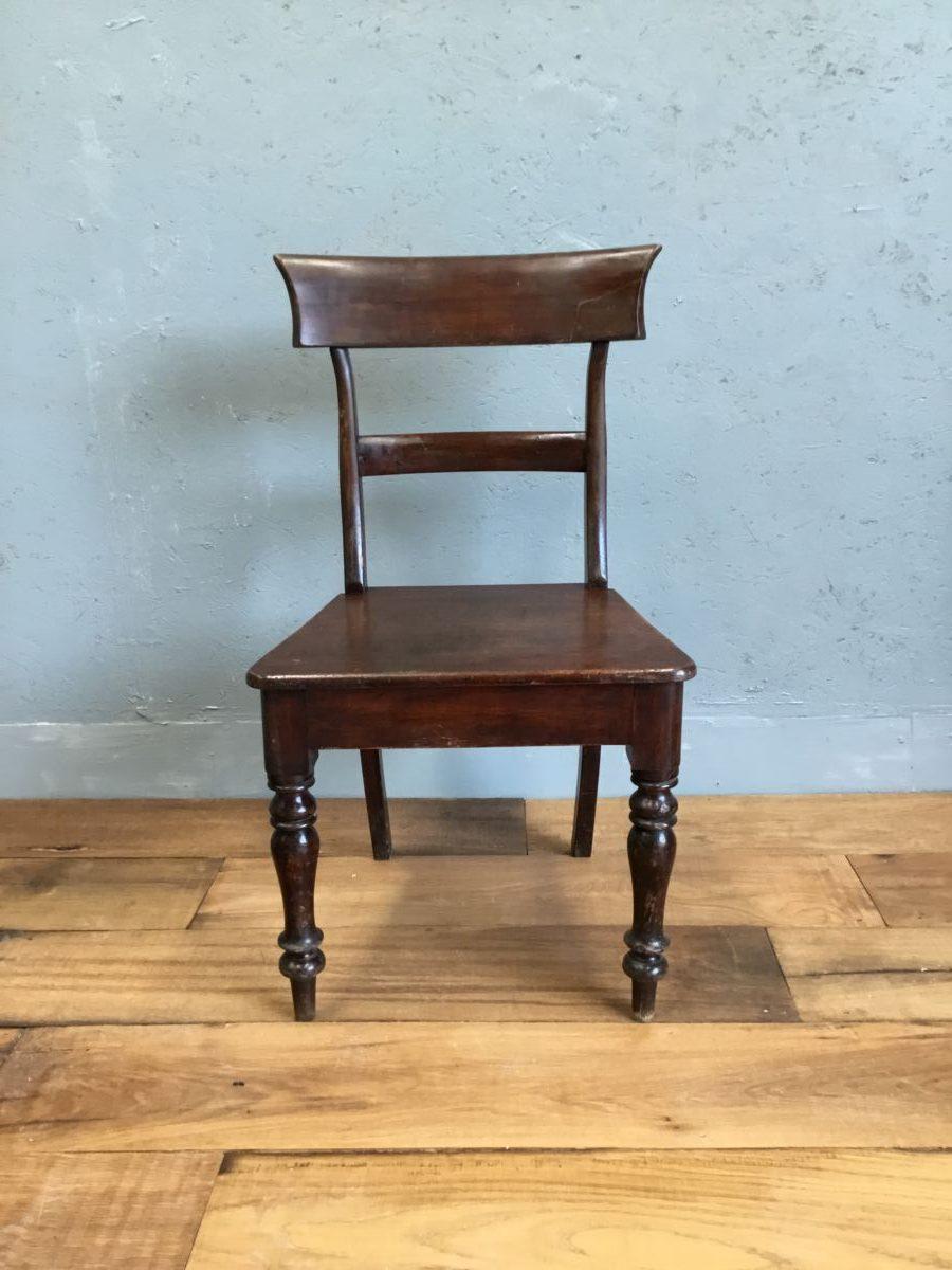 Victorian Mahogany Hall Chairs
