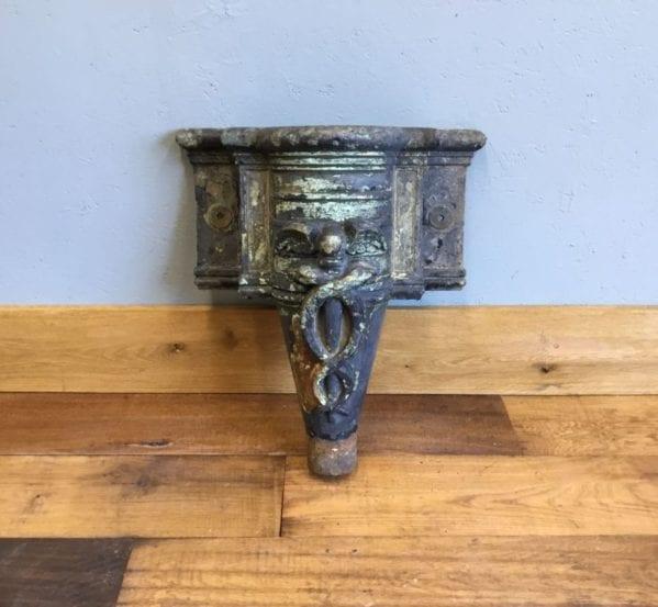 Ornate Cast Iron Rain Hopper