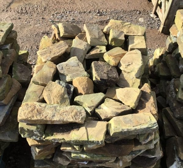 Walling York Stone