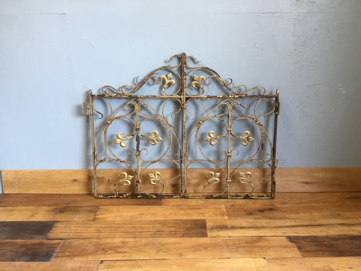Highly Ornate Cast Iron Gates