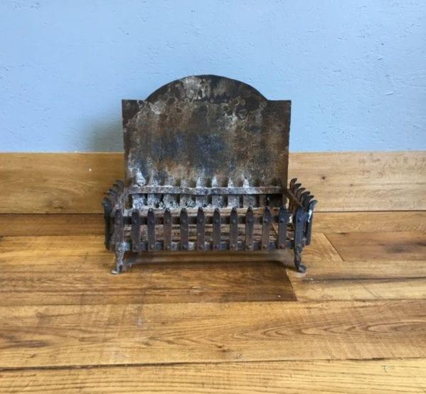 Wide Fire Basket Built-In Back