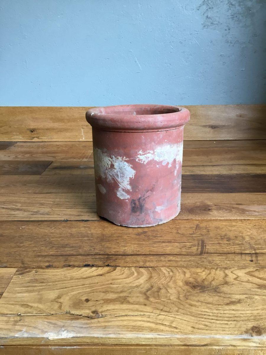 Round Small Terracotta Chimney Pot