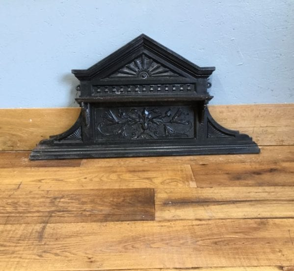 Cast Iron Over Mantle Piece