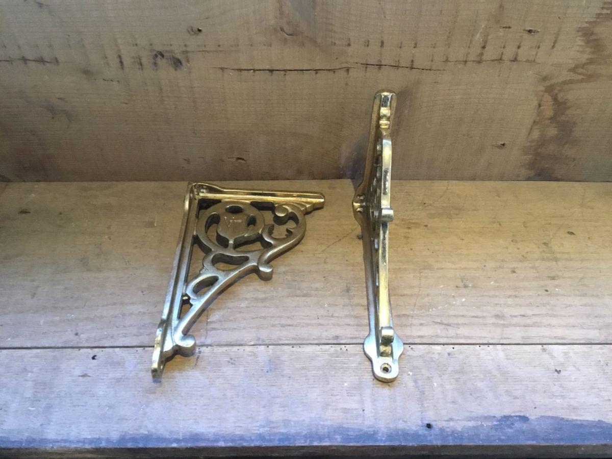Solid Brass Decorative Brackets