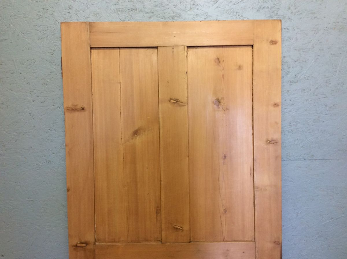 Short Stripped 4 Panelled Door