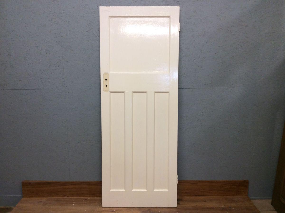1930s 1 Over 3 Painted Door