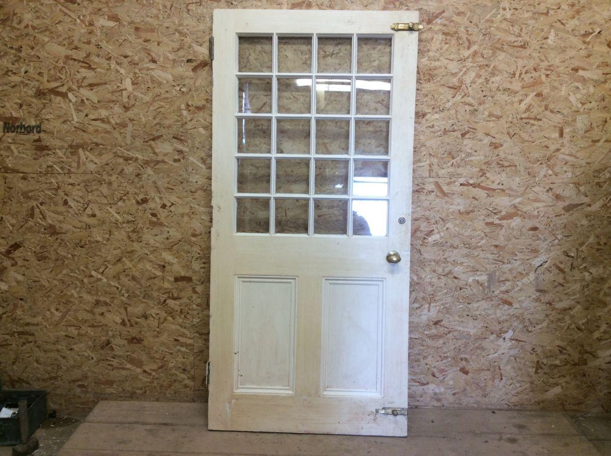 Half Glazed Front Door Authentic Reclamation