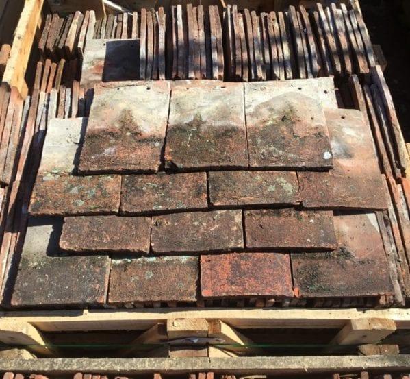 Reclaimed Dark Weatherd Peg Tiles