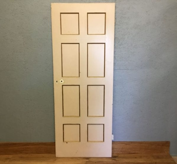 Painted Reclaimed 8 Panel Door