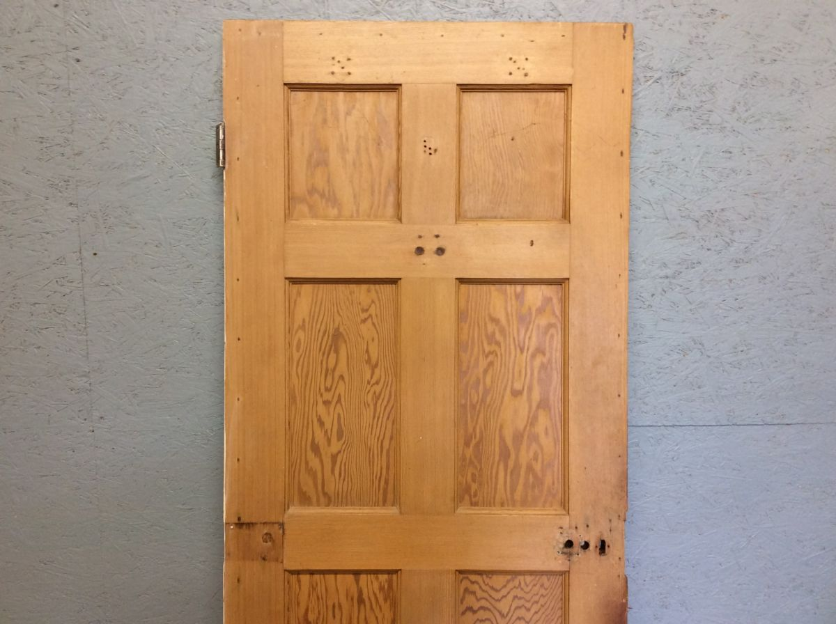 Half Painted 8 Panelled Door
