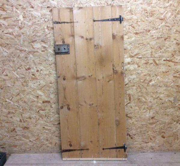 Planed Stripped Ledge & Brace Door