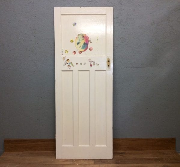 1930s 1 Over 3 Painted Door