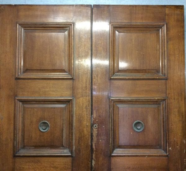 Grand Oak Double Doors Panels