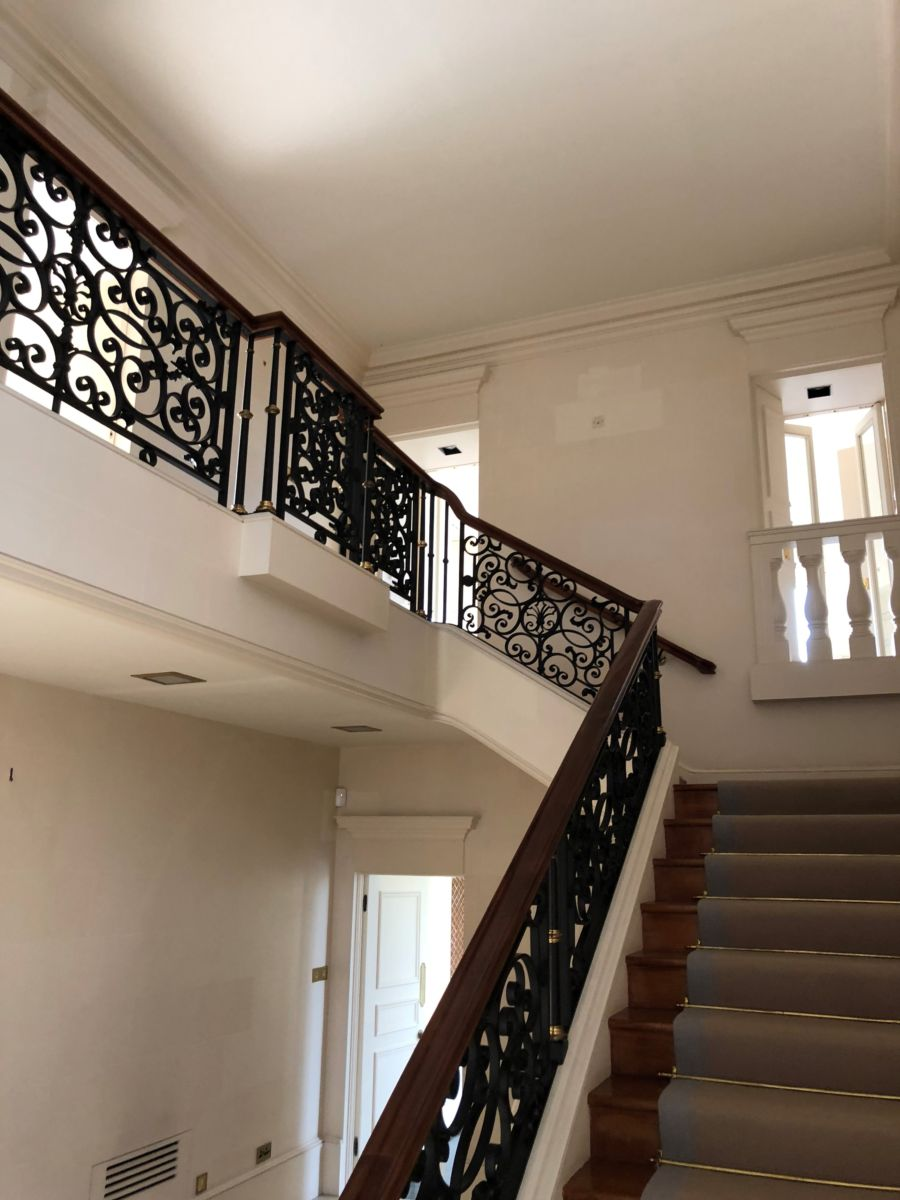 Wrought Iron Decorative Staircase Balustrade