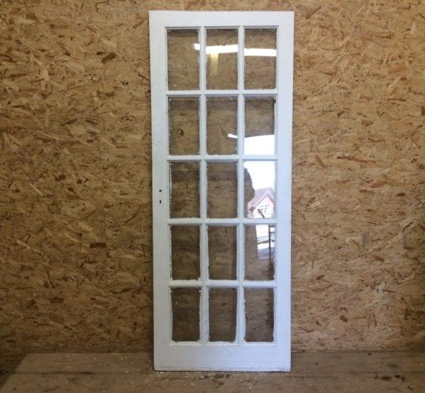 15 Pane Fully Glazed Door