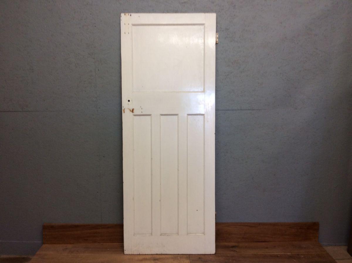 1 Over 3 White Door