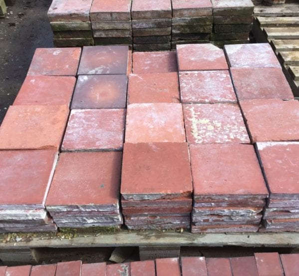 Reclaimed Smooth English Quarry Tile
