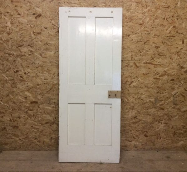Small White 4 Panelled Door