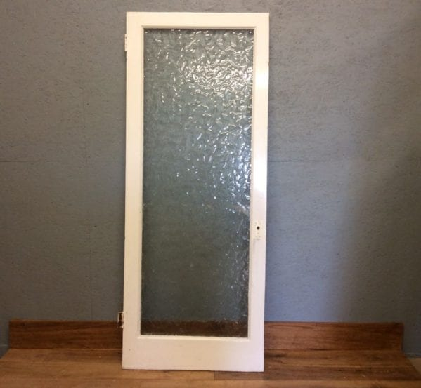 Fully Glazed Single Pane Door