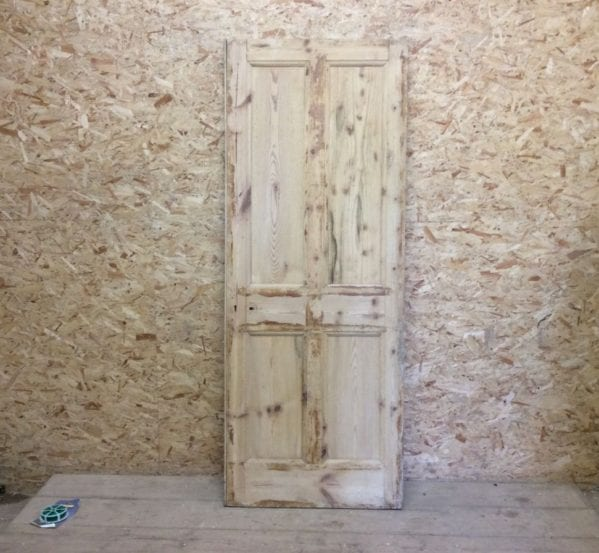 Stripped 4 Panelled Door