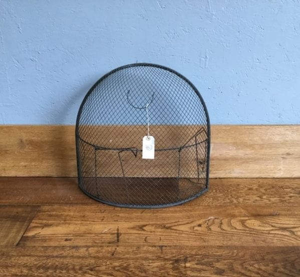 Large Black Rounded Fire Guard