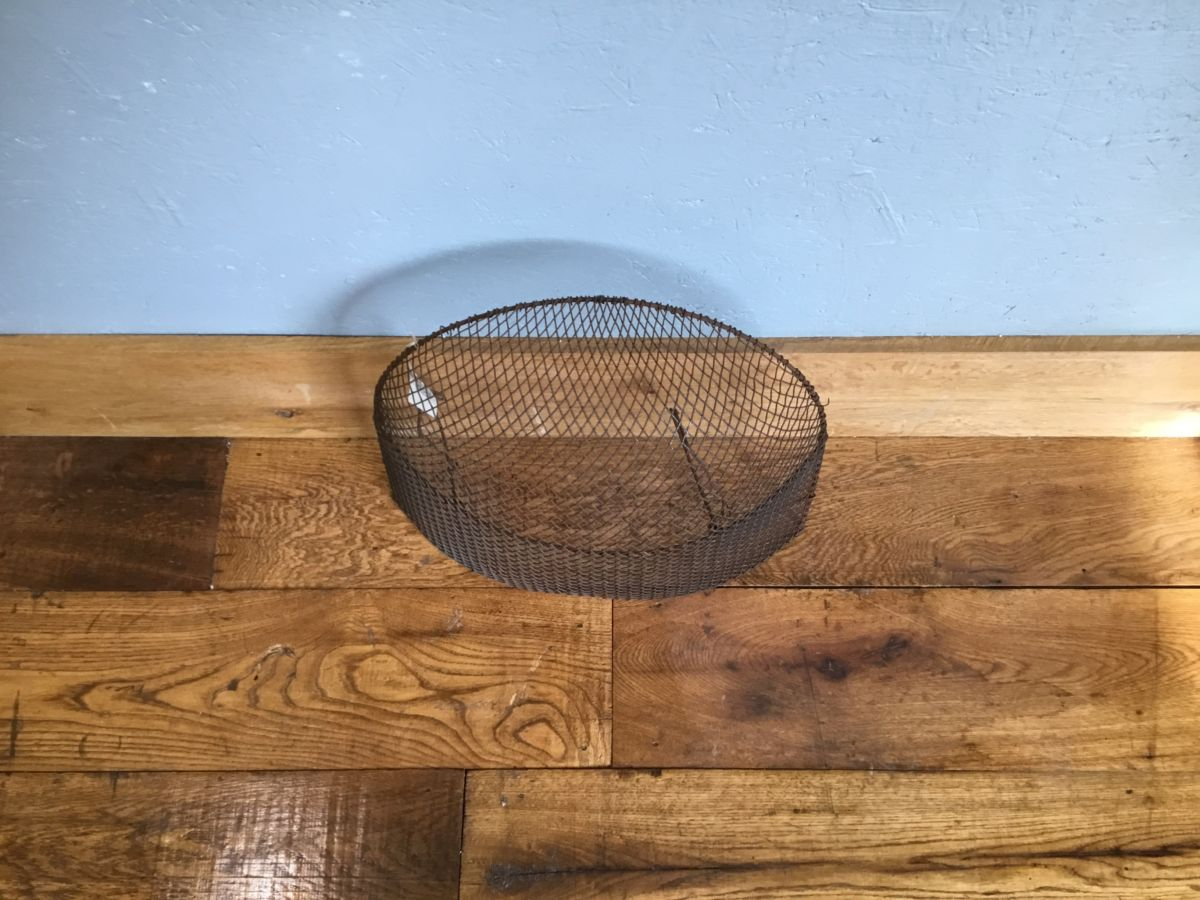 Large Brown Rounded Fire Guard
