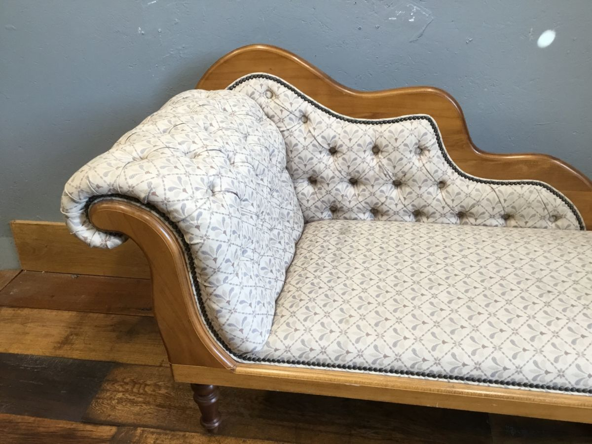 Upholstered Chaise-Lounge
