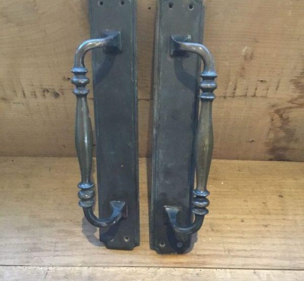 Brass Round Detail Pull Handles