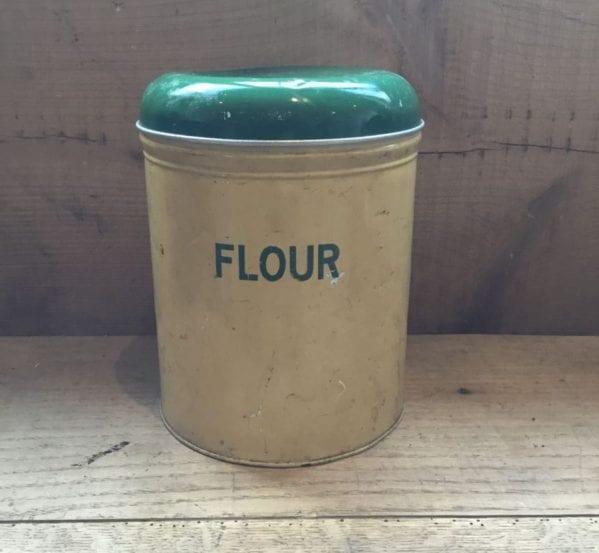 Vintage Flour Tin